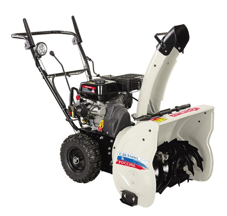 Снегоуборочная машина бензиновая СМБ-650Э Интерскол