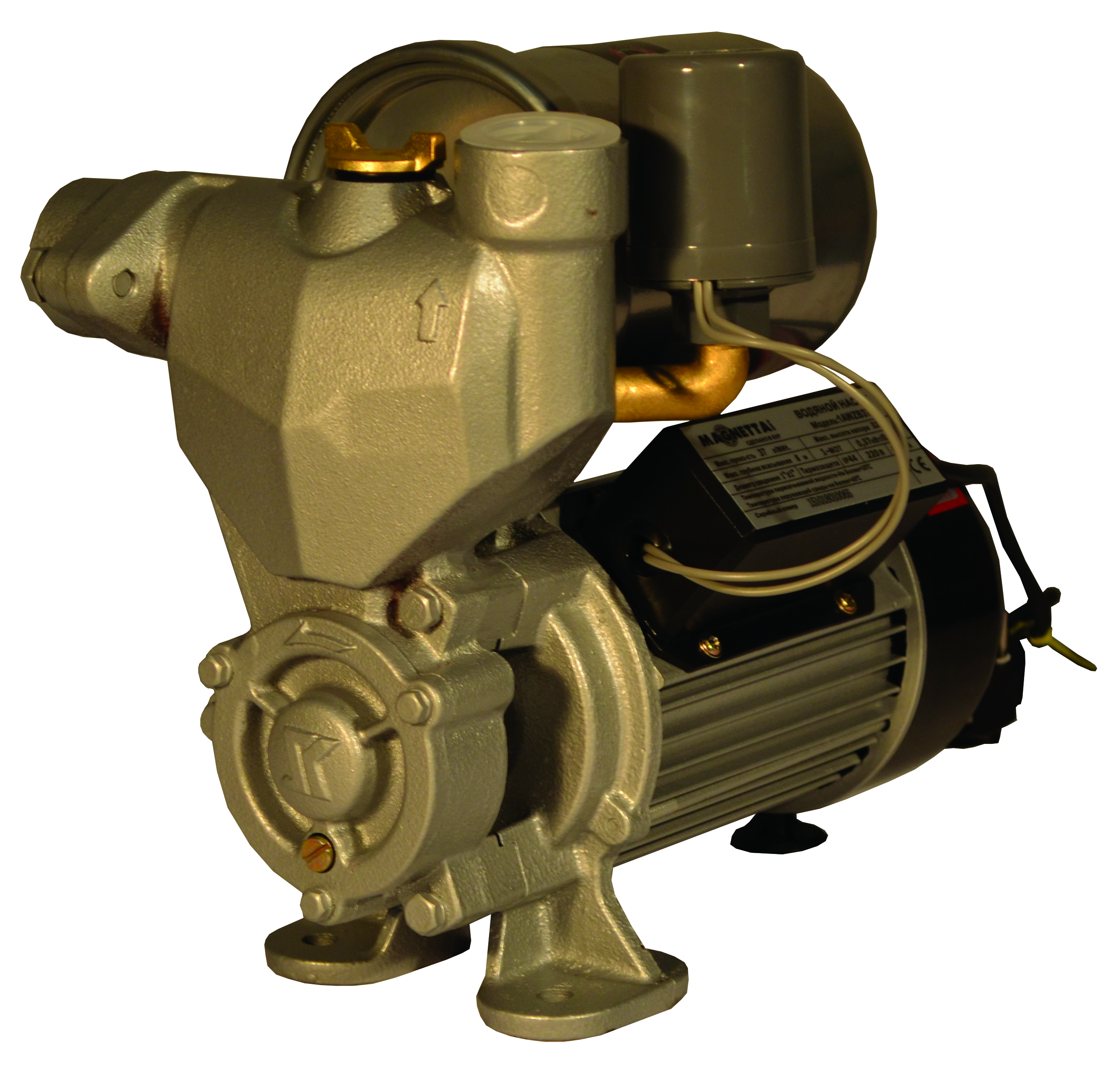 Автоматический самовсасывающий насос 1AWZB550 MAGNETTA