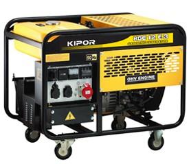 Бензиновый генератор KGE12E3 KIPOR